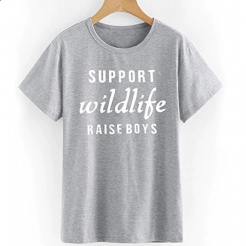 SUPPORT WILDLIFE T-SHIRT